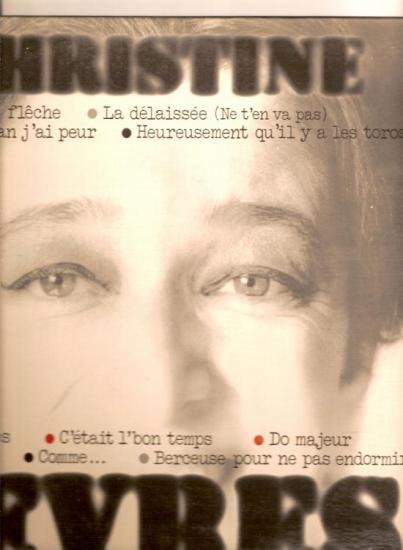 La délaissée , christine sèvres,  disque CBS 1970