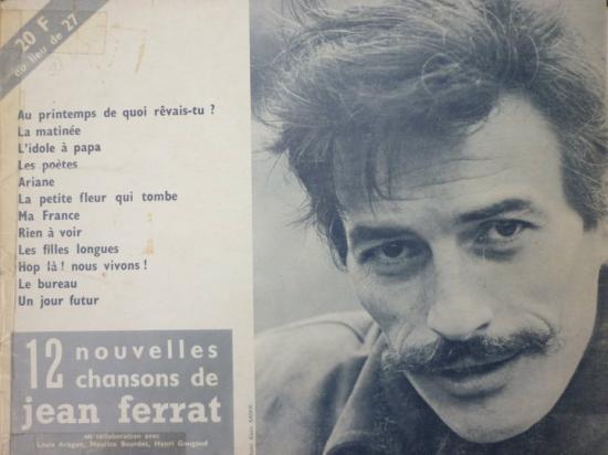 partition de Jean FERRAT
