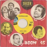 Laura, Laura, Par Danielle REY, disque DECCA, SP, de 1960