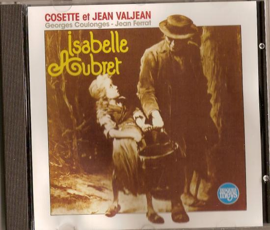Cosette et Jean VALJEAN, par Isabelle AUBRET