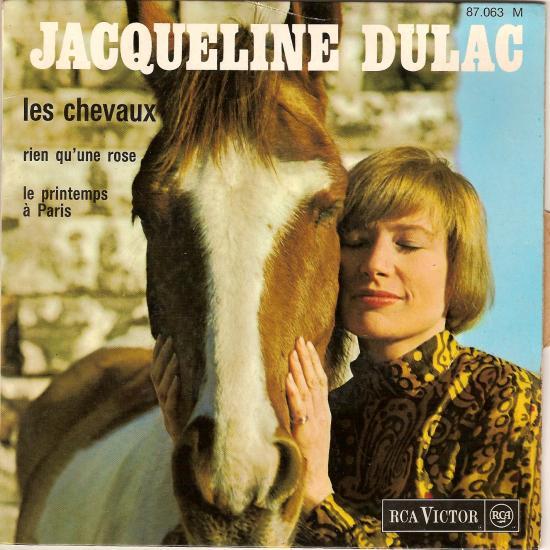 Les cheveaux par Jacqueline Dulac