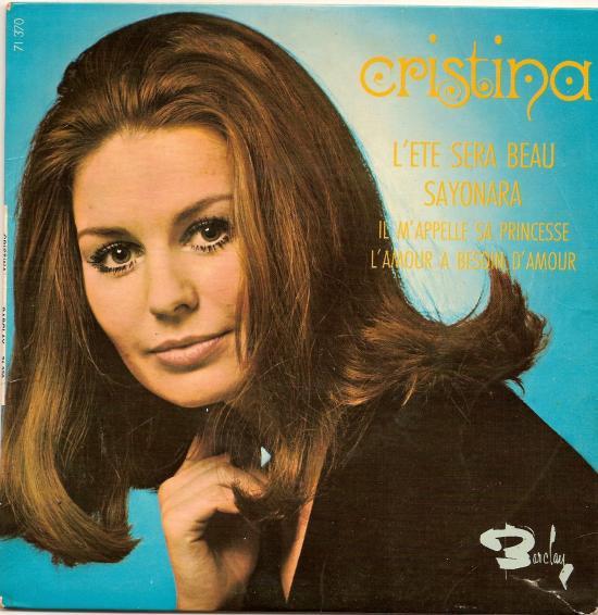 L'été sera beau par christina en 1969