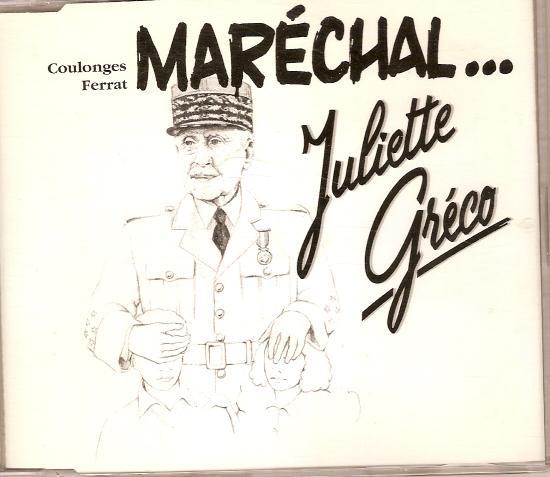 Maréchal ; le pull over - par Juliette  GRECO, CD Meys de 1997