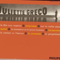 Sur le verbe Aimer ; par Juliette GRECO, CD J. GRECO n° 8 de 2002