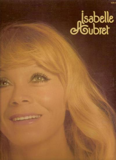 """""""Guerir"""",  Isabelle AUBRET 1977 disque meys"""