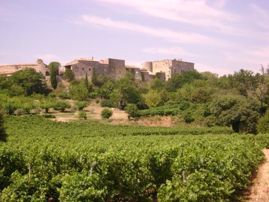 La bastide de virac, près de Barjac