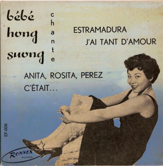 BEBE HUONG SONG  chante anita rosita Perez