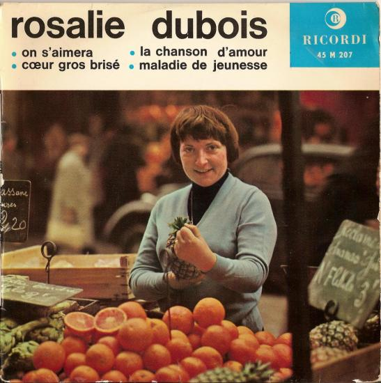 La chanson d'Amour par Rosalie Dubois