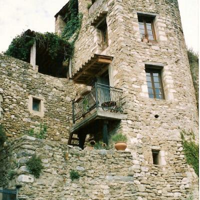 une maison dans le village