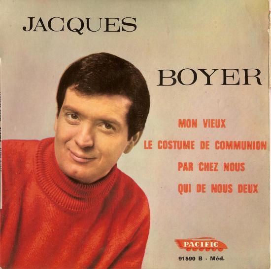 mon vieux la version originale signée SENLIS/FERRAT par Jacques BOYER dans les années 65