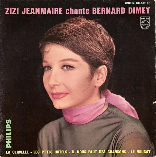 Il nous faut des chansons (Bernard DIMEY/jean FERRAT) par ZIZI jeanmaire
