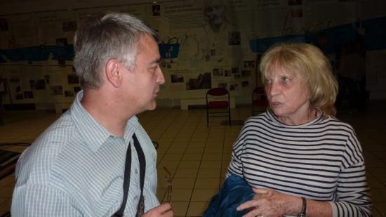 avec Francesca Solleville - Antraigues 27 juillet 2011