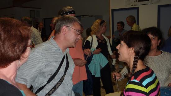 avec Nathalie MIRAVETTE - Antraigues 27 juillet 2011