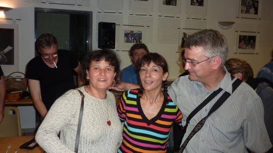 avec Viviane B. et nathalie MIRAVETTE