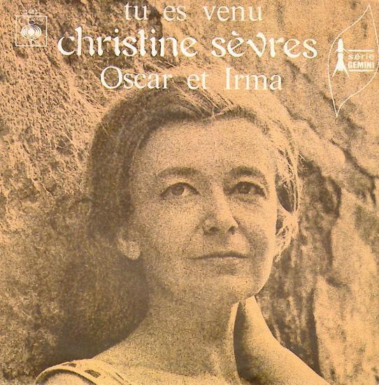 Tu es venu Par Christine sèvres