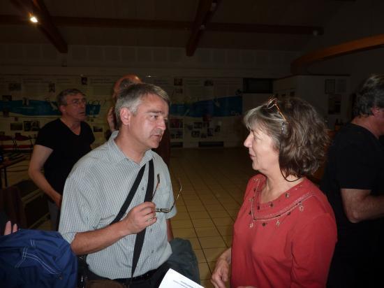 Avec Véronique Estel, la fille de Christine Sèvres - 27 juillet 2011