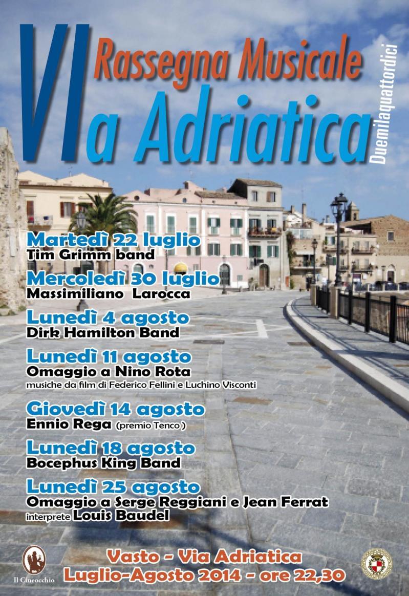 Rassegna musicale via adriatica vasto 2014